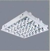 Recessed mounted fixture with double parabolic louverid3647371 recessed mounted fixture with double parabolic louver aloadofball Image collections