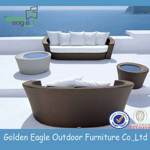 Wholesale outdoor furniture: Wicker Outdoor Garden Leisre Sofa Furniture