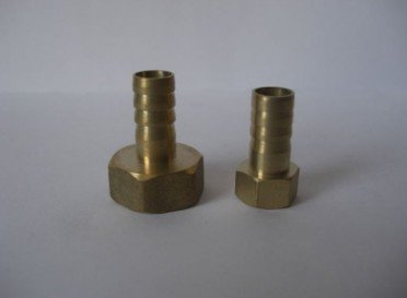 New Arrived Hexagon Brass Female Hose Barb Fittings Pneumatic Fittings