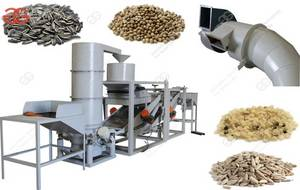Wholesale shelling machine: Commercial Sunflower Seeds Shelling Machine|Hemp Seeds Sheller Machine Price