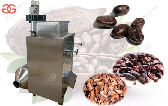 Cocoa Beans Skin Peeling Machine with Factory Price