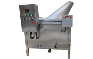 Wholesale automatic deep fryer: Stainless Steel Automatic French Fries Deep Fryer Machine