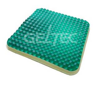 Wholesale Seat Cushions: Transparent Massage Gel Seat Cushion