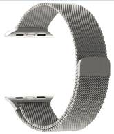 Wholesale Watch Bands, Straps & Bracelets: Double Electroplating Milanese Loop Stainless Steel Replacement Iwatch Band with Magnetic Closure Cl
