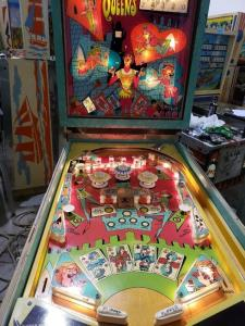 Wholesale led fitting: Four Queens Pinball Machine