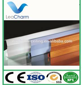 Wholesale surface treatment system: Decorative Material Metal Aluminum in-line Type Screen Ceiling