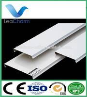 Heat Resistant C Shaped Linear Ceiling Sun Louver