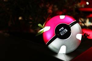 Wholesale power bank 10000mah: Pokemon Go Pokeball Powerbank 10000 Mah LED Phone Charge Power Bank