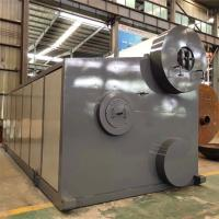 10t/H Horizontal Packaged Oil Gas Fired Water Tube Steam Boiler for Textile Mill 3