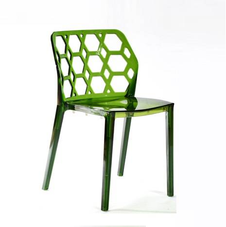 leisure: Sell Clear Green Water Cube Leisure Plastic Chair furniture