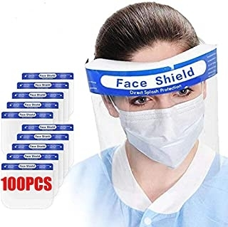 Sell 100Pcs Value Pack Premium Face Shield with Protective Clear film