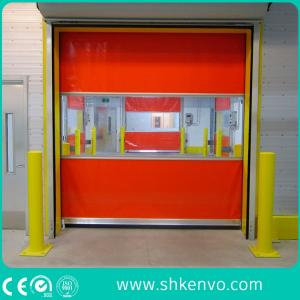 Wholesale pvc detector: PVC Fabric High Speed Rolling Door for Clean Room