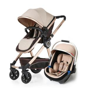 Wholesale 3 fold: Baby Stroller Folding Hot Mom 3 in 1