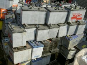Wholesale used batteries: Used Drained Lead Acid Car Battery Scrap