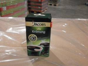 Wholesale Ground Coffee: Jacobs Kronung Coffee 250g, 500g