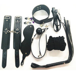 Wholesale handcuffs: 7 Pieces Bondage Restraint Sets