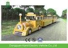 Trackless Diesel Engine Mini Express Trackless Train For Amusement Park