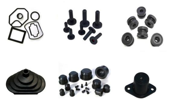 Sell Molded Polychloroprene Rubber Products Rubber Parts For Industrial Usage