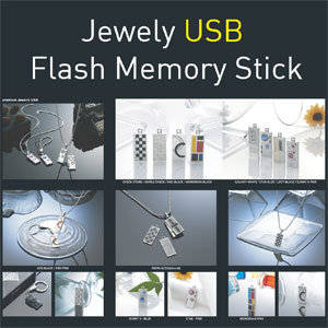 Wholesale necklace: USB Necklace