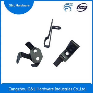 Wholesale spring clip: Auto Stamping Parts, Spring Clip,