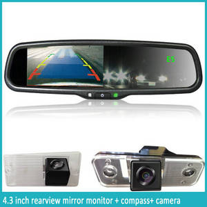Wholesale mirror lcd display: Aftermarket Car Auto-dimming Rear View Mirror with Car Backup Camera and LCD Display