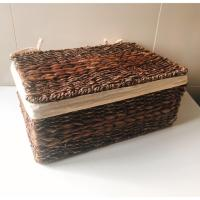 Water Hyacinth Storage Baskets Have Cap