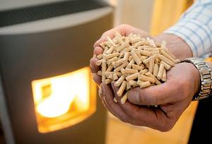 Wholesale biomass fuel 15kg bags: Wood Pellet