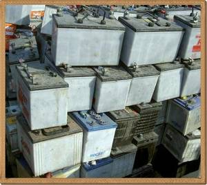 Wholesale battery: Drained Lead Acid Auto Battery Scrap
