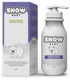 Wholesale bath powder: SNOW Baby Diaper Complex(Powder Lotion)