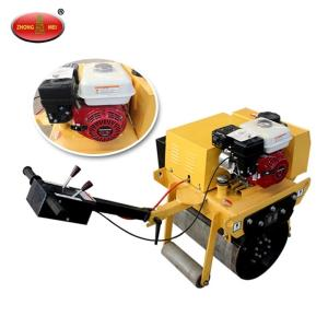 Wholesale mini bearing roller: Walk Behind Gasoline Single Drum Vibratory Road Roller