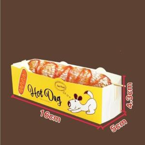 Wholesale sheet metal flat joints: Cheese Hot Dog Box Packing