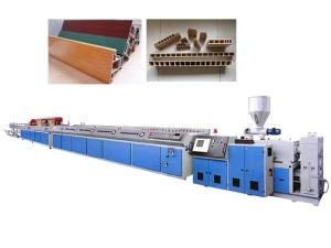 Wholesale wood grain pvc sheet: PVC Window and Door Profile Extrusion Machine