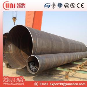 Wholesale ssaw steel pipe: Ssaw Steel Pipe Pilling Pipe Structural Steel Pipe Line Pipe