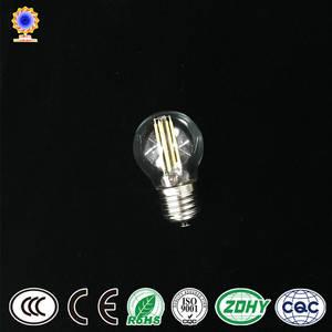 Wholesale light bulb: Edison G45 LED Lighting Bulb Filament Warmer Color LED Lamp LED Filament Bulb