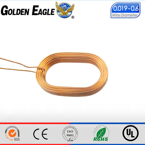 Self-bonding Copper Wire Induction Coil for Guitar Pickup Transducer