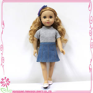Wholesale Toy Accessories: Factory Make Doll Clothes for 18 Inch Doll