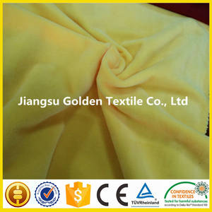 Wholesale plush fabric: High Quality 100% Polyester Short Plush Velboa Fabric for Sofa