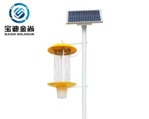 Wholesale high quality greenhouse: Solar Powered Rechargeable Pollution Free Pest Control Lamp Use in Farm Orchard