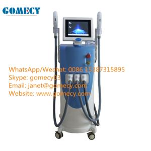 Wholesale tattoo supply: CE 3 in 1 E-light Ipl RF Nd Yag Laser Multifunction Beauty Machine Price