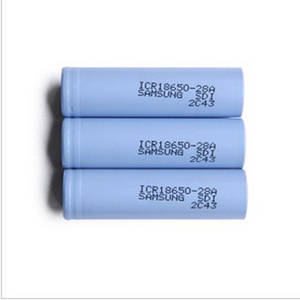 Wholesale samsung battery: Wholesale Samsung 28A 2800mah 3.75V 18650 Flat Top 18650 28A Rechargeable Li-ion 18650 Battery