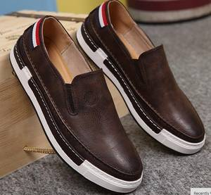 Wholesale spring shoes: Spring Autumn New Arrival Men Leather Casual Shoes Breathable Fashion