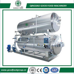 Wholesale fluid control products: Water Immersion + Steam Rotary Retort Sterilizer/Sterilization