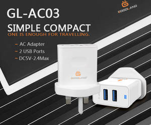 Wholesale home charger: Home/Travel AC Adapter Charger GL-AC03