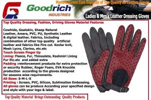 Wholesale leather gloves: Leather Driving Gloves
