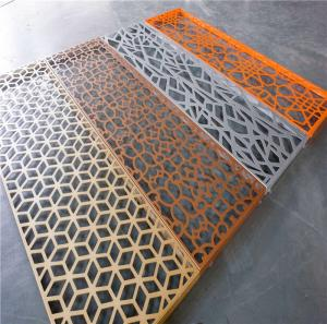 Wholesale film coating equipment: Aluminum Laser Cut Perforated Screen Panels and Decoration Partition Panel