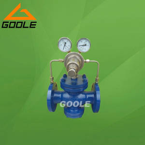Sell Pilot Operated Gas Pressure Reducing Valve