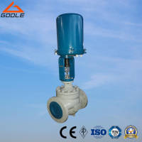 Wholesale globe valves: ZDLP Electric Actuated Single Seat Globe Control Valve
