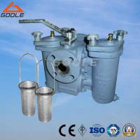 Wholesale plug valves: Duplex Strainer with Three Way Plug Valve Connected