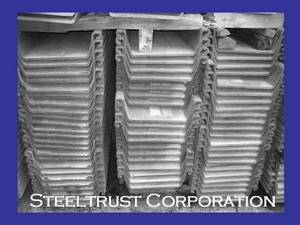 Wholesale Structural Steel: Steel Sheet Piles Type 2