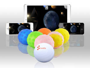 Wholesale toy: Baby Toy APP Toy Swall Robotic Ball with Color Changing Bluetooth Connection by Smart Mobile